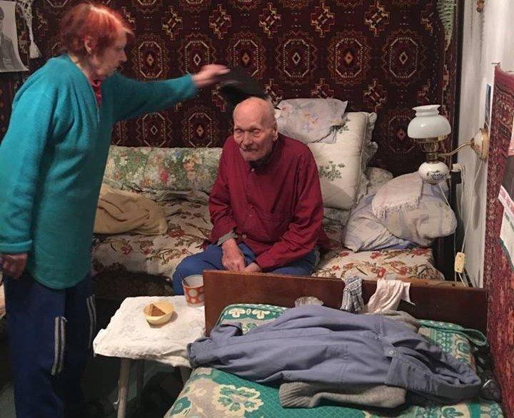 96-летний ветеран Федор Иванович