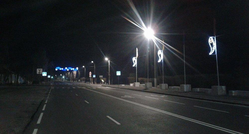 Новые лампы ночного освещения на улицах Балыкчи