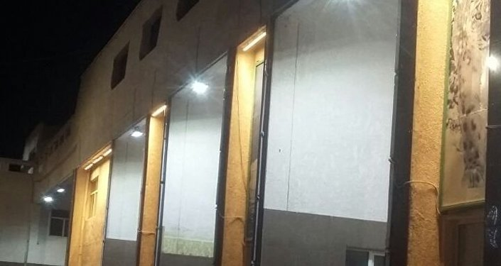 На сегодня полностью завершены работы по установке 160 фонарей со светодиодными лампами по всей улице Жусупа Абдрахманова.