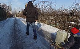 Дача айылындагы кадимки тиричилик