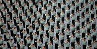 Церемония поднятие флага в Китае
