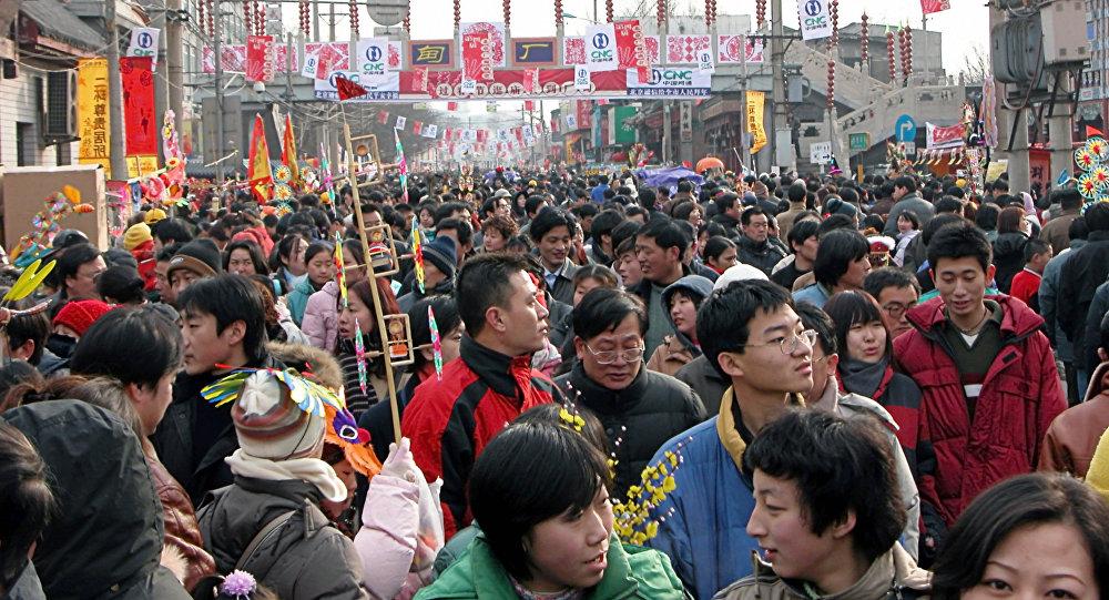 Численность населения Китая кконцу 2016 составила практически 1,4 млрд человек