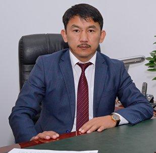 Архивное фото директора госагентства антимонопольного регулирования Болсунбека Казакова