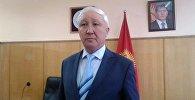 Өкмөттүн Нарын облусундагы өкүлүнүн биринчи орун басары Касен Асизов