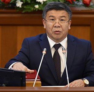 Архивное фото депутата ЖК 6 созыва Алмамбета Шыкмаматова от фракции Ата-Мекен