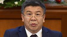Жогорку Кеңештин депутаты Алмамбет Шыкмаматовдун архивдик сүрөтү