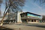 Бабур атындагы өзбек драмалык театрынын архивдик сүрөтү