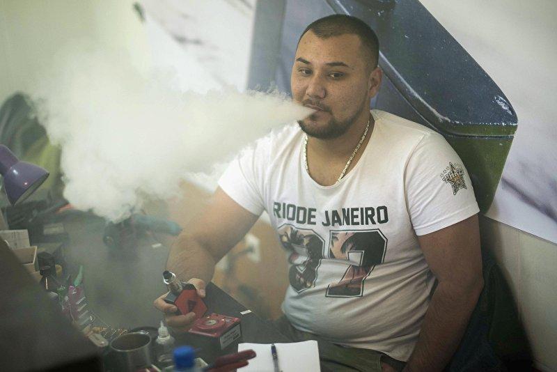 Основатель первого вейп-шопа в Кыргызстане Юсуф