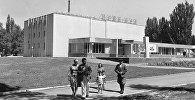 Архивные фото города Пржевальск. Кинотеатр Иссык-Куль