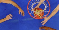 Баскетбол оюну. Архивдик сүрөтү