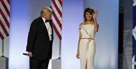 АКШнын президенти Дональд Трамптын аялы Меланья Трамптын архивдик сүрөтү