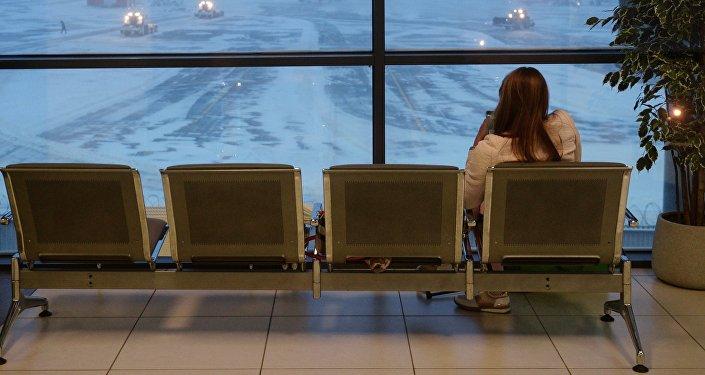 Шереметьево аэропорту. Архивдик сүрөт