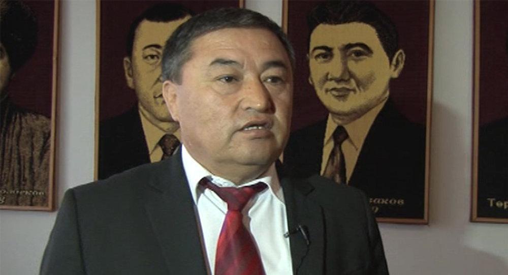 Назначенный полномочным представителем правительства в Баткенской области Алишер Абдрахманов. Архивное фото