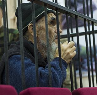 Архивное фото осужденного Азимжана Аскарова