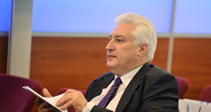 Архивное фото главного редактора журнала Национальная оборона Игоря Коротченко