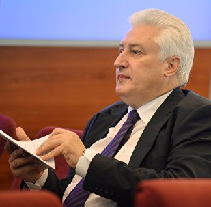 Главный редактор российского журнала Национальная оборона Игорь Коротченко. Архивное фото