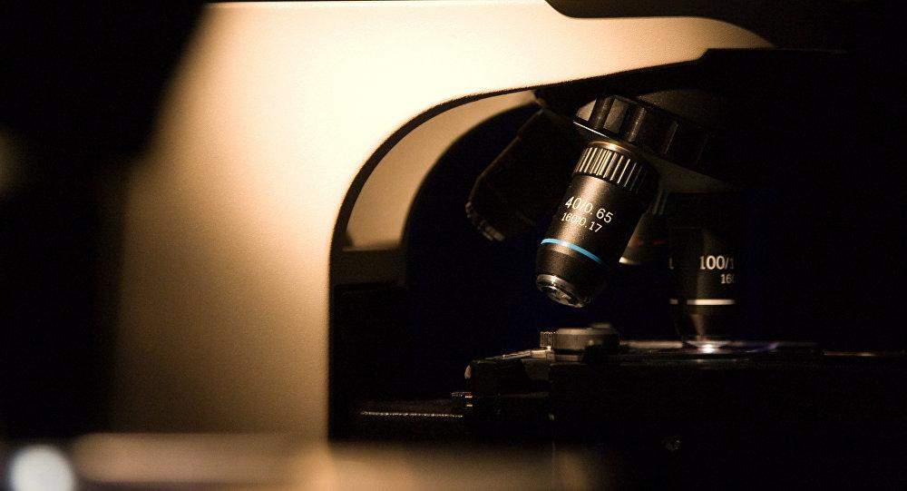 Современный электронный микроскоп. Архивное фото