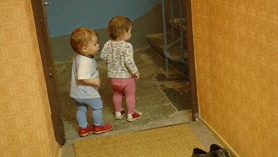 Маленькие дети. Архивное фото