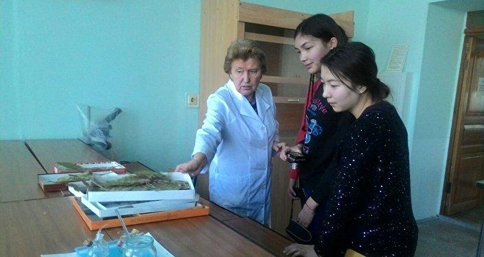 Дети посетили Томский госуниверситет (ТГУ) и Сибирский государственный медицинский университет