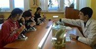 Кыргызстанские школьники посетили два высших учебных заведения Томска в рамках научно-образовательной поездки