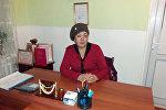 Алай районунун Гүлчө айылындагы №5 Ак ниет бала бакчанын директору Айнура Тешебаева