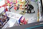 Разбойное нападение на магазин в Аламедине