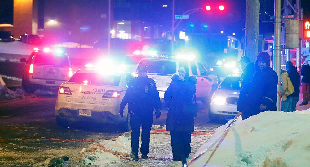 Квебектеги атышуу болгон жайда полиция кызматкери