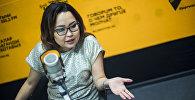 Архивное фото основательницы и главного редактора глянцевого журнала #ONEMAG Айиды Долотбаковой