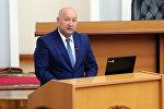 Вице-премьер Жаңиш Разаков. Архив