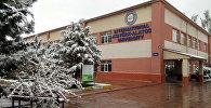 Кыргызстандагы эл аралык Ататүрк-Алатоо университети. Архивдик сүрөт