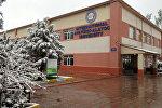 Архивное фото здания Международного университета Ататюрк-Алатоо в Бишкеке
