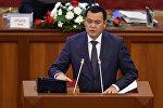 Өнүгүү — Прогресс фракциясынын депутаты Мирлан Бакировдун архивдик сүрөтү