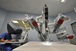 Использование роботов в медицине. Архивное фото