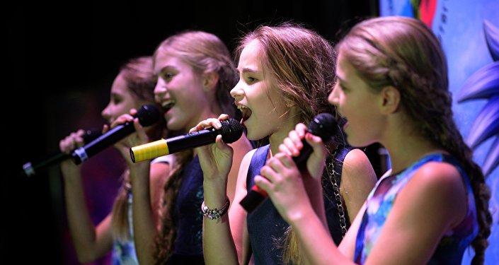 Участницы на pre-party детского Евровидения-2016. Архивное фото