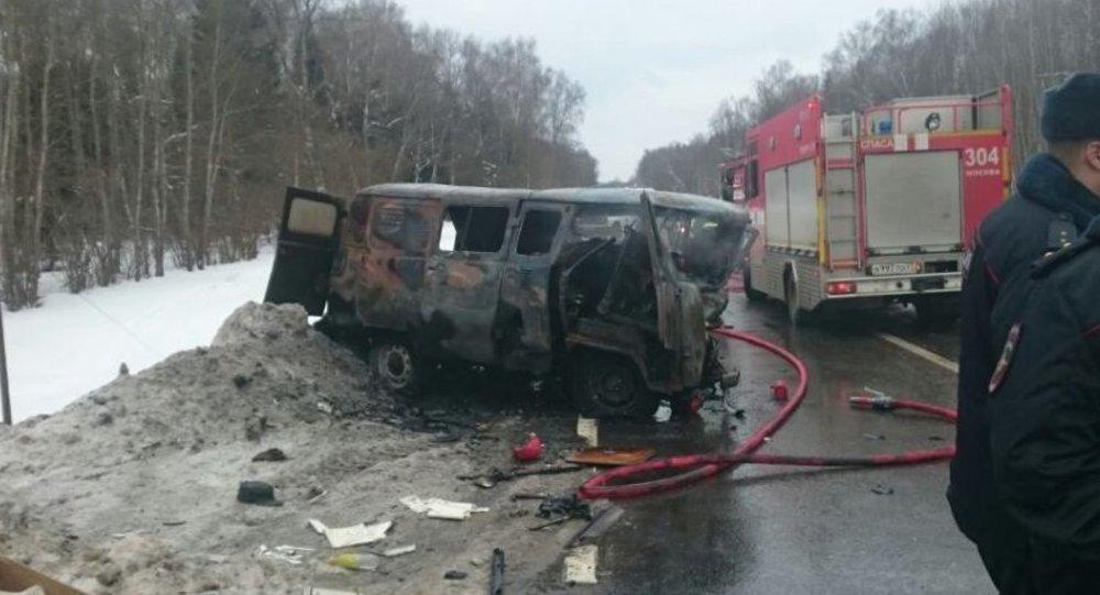 ВДТП в новейшей столице России живьем сгорели 9 человек