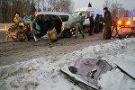 Россиянын Новая Москва аймагындагы ири жол кырсы