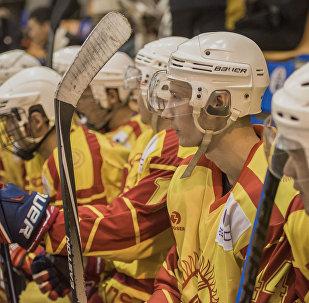Кыргызстандын хоккей боюнча курама командасынын архивдик сүрөтү