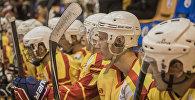 Кыргызстандын хоккей боюнча улуттук курама командасы. Архивдик сүрөт