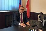 КР ИИМдин Москвадагы өкүлү Аскат Алиевдин архивдик сүрөтү