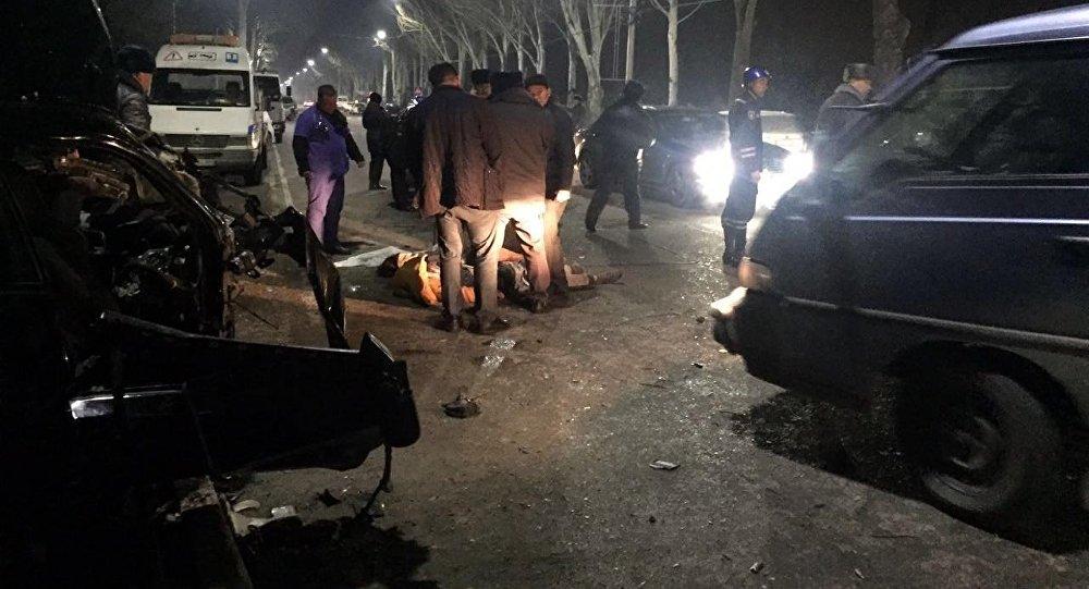 Киргизы погибли недавно попав в аварию