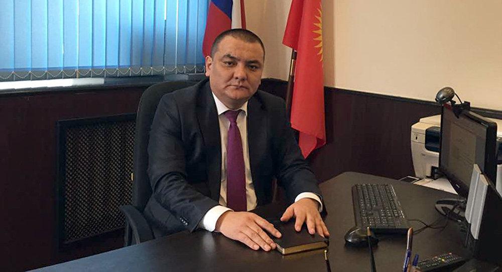 Ички иштер министрлигинин Россиядагы өкүлү Аскат Алиев