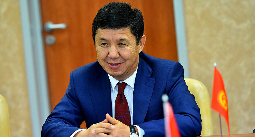 Премьер-министр Темир Сариев Белоруссияда Гродно шаарында.
