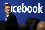 Facebook социалдык тармагынын негиздөөчүсү Марк Цукерберг. Архивдик сүрөт