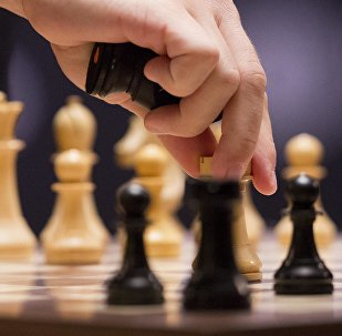 Шахматная доска. Архивное фото