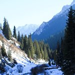 Жети-Өгүз деңиз деңгээлинен 3800 метр бийиктикте жайгашкан