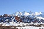 Ущелье Джеты-Огуз в Иссык-Кульской области. Архивное фото