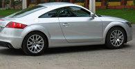 Гоночный автомобиль Audi TT Coupe. Архивное фото