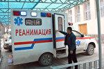 Специализированная и оснащенная необходимым оборудованием реанимобиль, предназначенная для перевозки рожениц и новорожденных в Бишкеке. Архивное фото