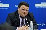 Председатель Государственной таможенной службы при Правительстве КР Азамат Сулайманов