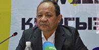 Президент объединения юридических лиц Союз банков Кыргызстана Анвар Абдраев. Архивное фото